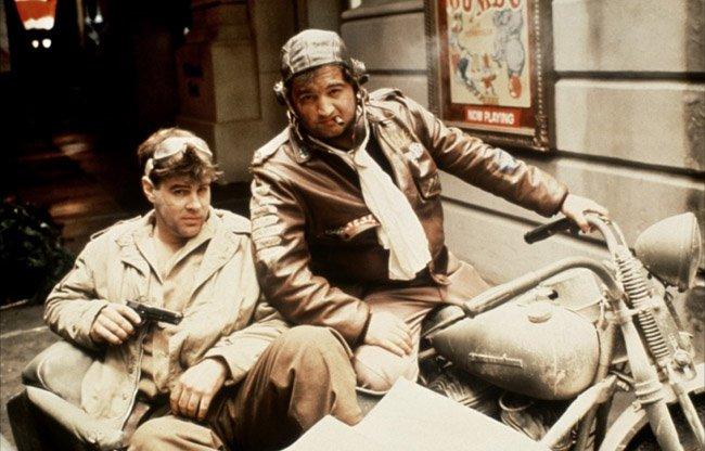 Deux-Blues-Brothers-en-side-car-