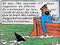 Les-Aventures-de-Tintin-Capitaine-Haddock-Lamartine-et-Jaws- dans Fiche et critique du film