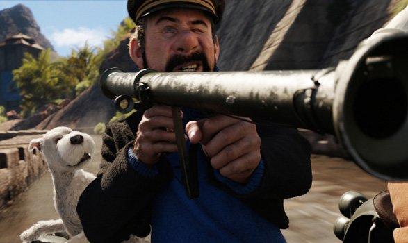 Les-Aventures-de-Tintin-Haddock-fatal-bazooka dans Fiche et critique du film
