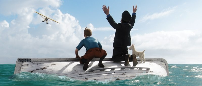 Les-Aventures-de-Tintin-La-Mort-aux-Trousses- dans Fiche et critique du film