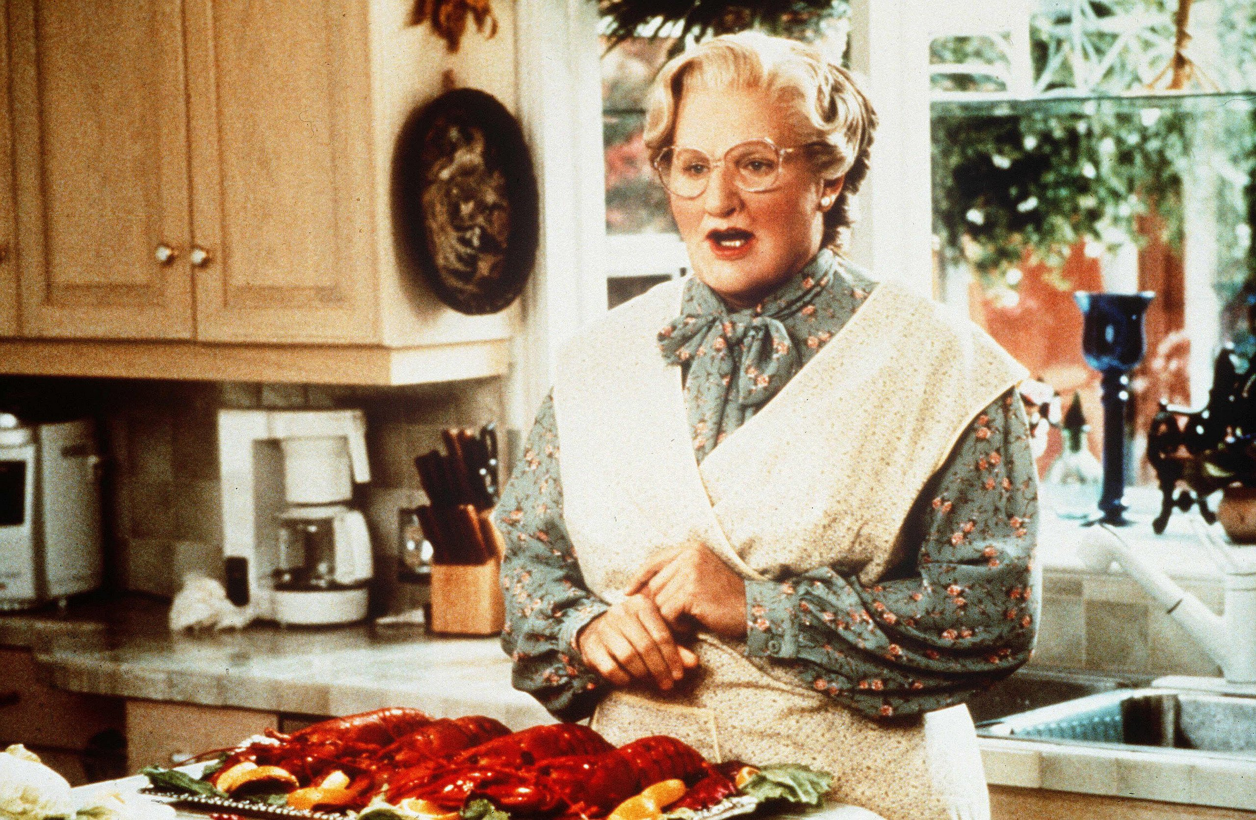 Vladimir Ivanov Robin Williams Robin Williams Mrs Doubtfire