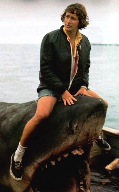 Jaws - A cheval sur sa vedette !